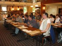 pohľad na účastníkov seminára