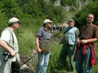 diskusia počas výstupu na Haligovské skaly